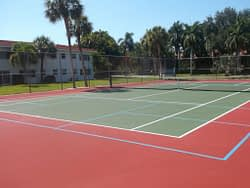 pickleball court from tennis court